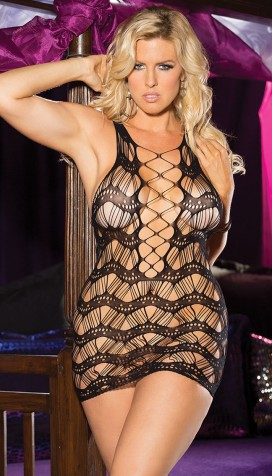 ULTIMATE STRAPPY WAVY CHEMISE