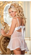 CHOPPER BAR LACE AND NET BABYDOLL