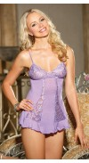 FEELS SO INCREDIBLY SOFT AND SUPPLE, OUR RAYON/SPANDEX KNIT CHEMISE